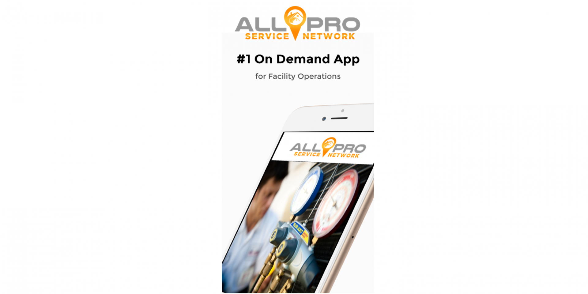 The First & Only On-Demand App and Support Network for Facility Managers