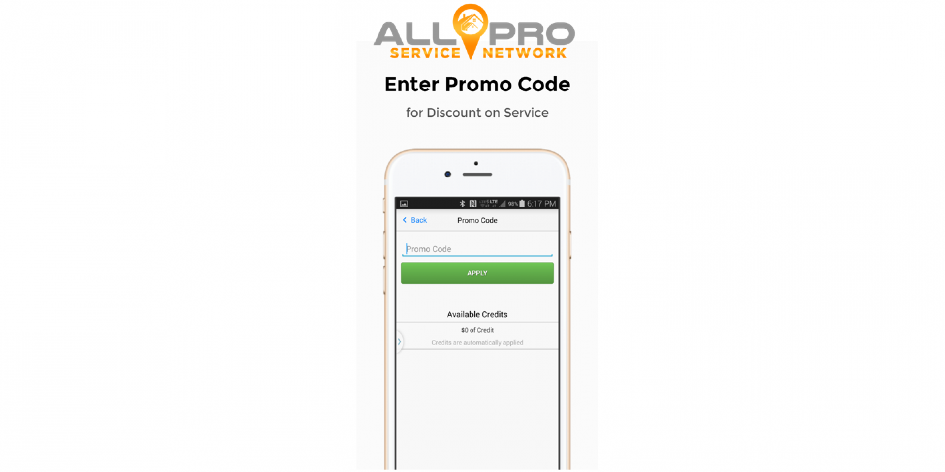 Discounts for Service can be Applied On Mobile Device